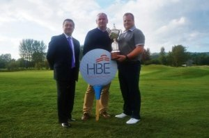 Jerry Scullion, the HBE Ulster PGA Championship Winner