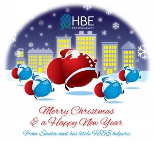 HBE Merry Christmas wishes
