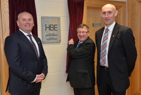 HBE newry office Opening with Invest NI