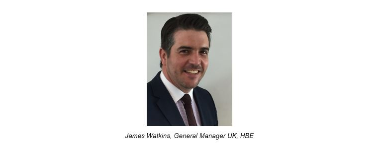 James Watkins General Manager UK HBE