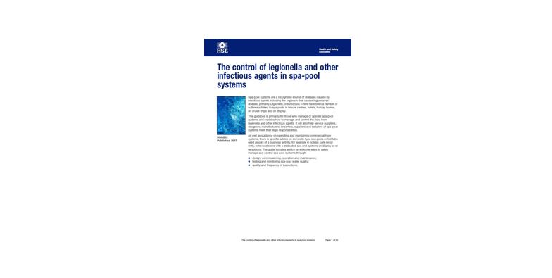 HSG282 Legionella control in Spa Pools Jan2017
