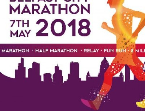 HBE's running for Cancer Focus in the Belfast Marathon 2018