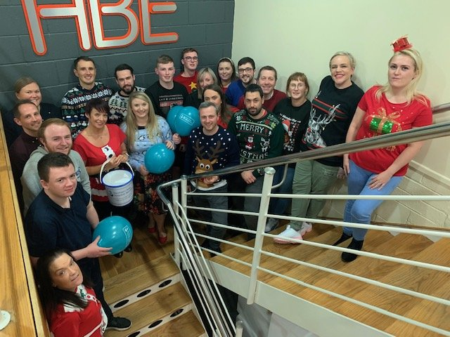 Christmas Charity Jumper Day at HBE