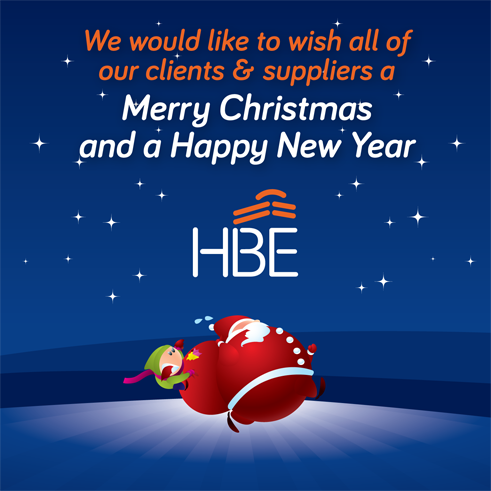 Seasons Greetings from HBE
